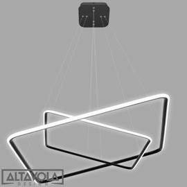 Altavola :: Lampa wisząca Lampa Ledowe Kwadraty No. 4 - czarna