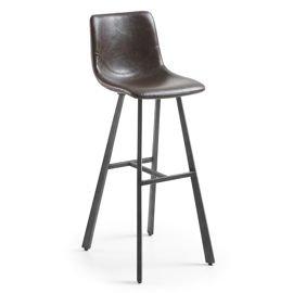 LaForma :: Hoker / krzesło barowe Trac - ciemnobrązowy