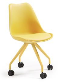 LaForma :: Krzesło biurowe Lars żółte